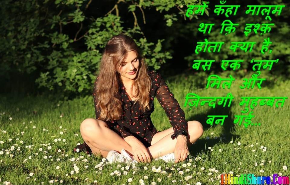 Love Shayari Status Hindi