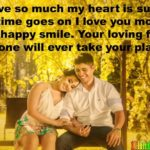 Husband Wife Love Shayari Text SMS Message Status in English