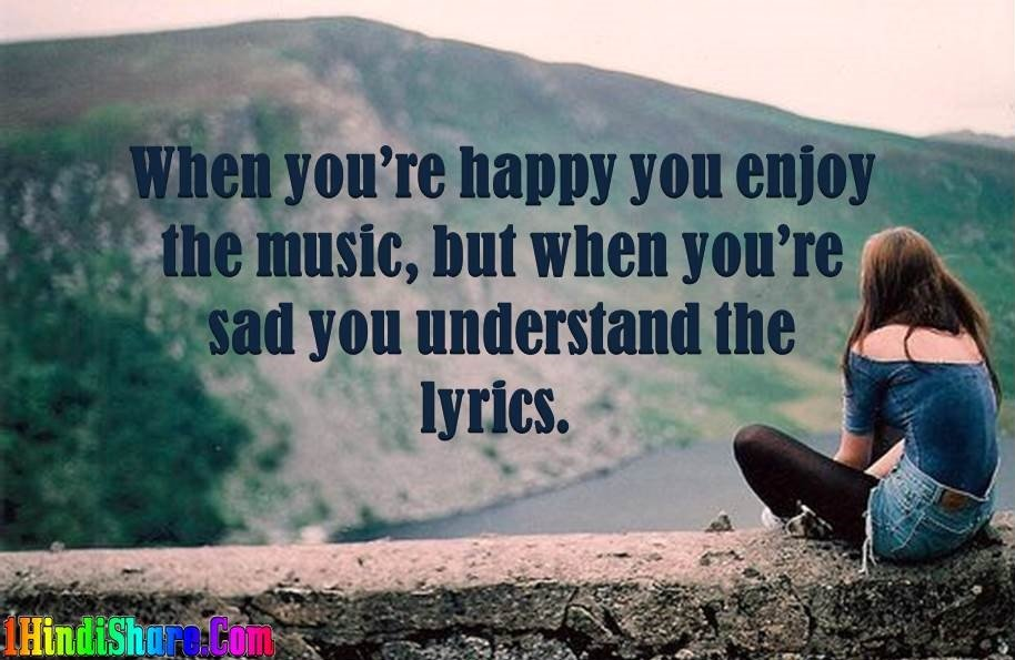 Sadness Quotes English