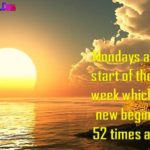Monday Morning Quotes Status In English image photo wallpaper hd download