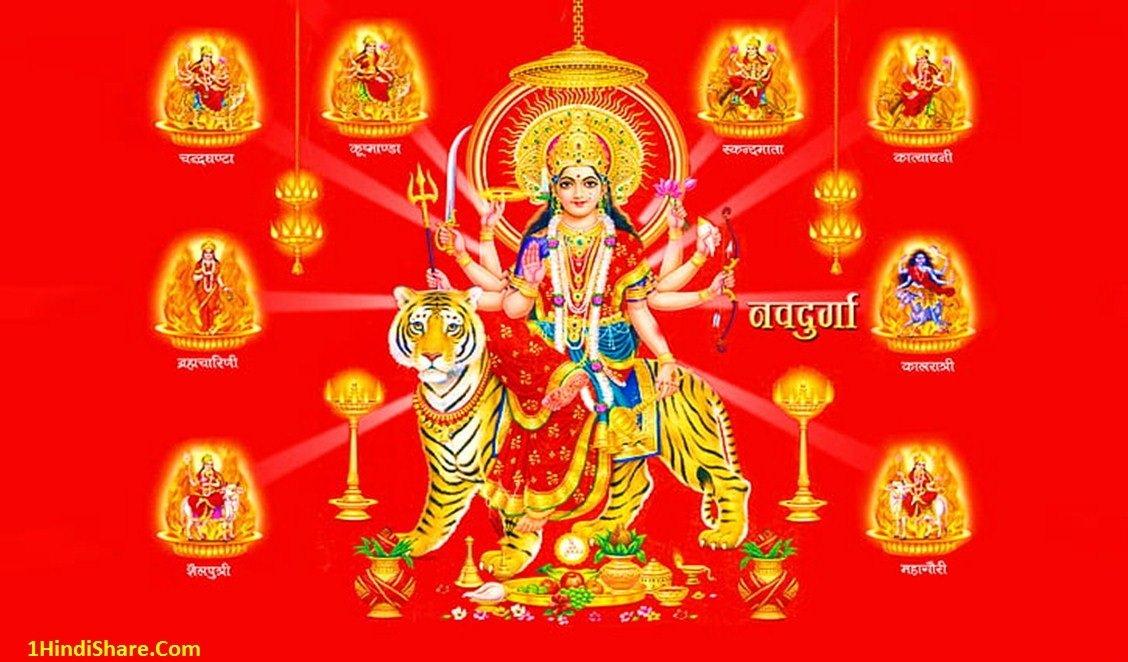 Happy Navratri 4k Wallpaper
